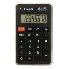 Калькулятор карманный CITIZEN LC310NR (114х69 мм), 8 разрядов, питание от батарейки