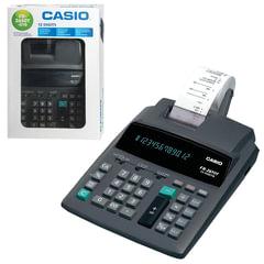 Калькулятор CASIO печатающий FR-2650T-GYB, 12 разрядов, от сети, 335х206 мм, (бумажный ролик 110364, картридж 250404)