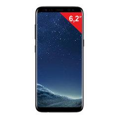 "Смартфон SAMSUNG Galaxy S8+, 2 SIM, 6,2"", 4G (LTE), 8/12 Мп, 64 ГБ, microSD, ""черный бриллиант"", металл/стекло"