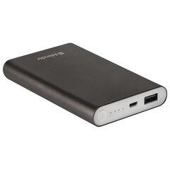 Аккумулятор внешний DEFENDER EXTRALIFE 8000B, 8000 mAh, 1 USB, Li-pol, черный, 83667