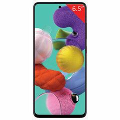 "Смартфон SAMSUNG GalaxyA51, 2 SIM, 6,5"", 4G (LTE), 32/48 + 12 + 5 + 5, 128 ГБ, красный, пластик"