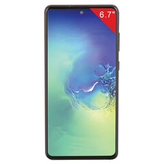 "Смартфон SAMSUNG GalaxyNote10 Lite, 2 SIM, 6,7"", 4G (LTE), 3/12 + 12 + 12 Мп, 128 ГБ, черный, металл"