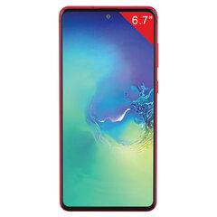 "Смартфон SAMSUNG GalaxyNote10 Lite, 2 SIM, 6,7"", 4G (LTE), 3/12 + 12 + 12 Мп, 128 ГБ, красный, металл"