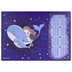 "Настольное покрытие BRAUBERG, А3+, пластик, 46x33 см, ""Ocean dream"", 270400"
