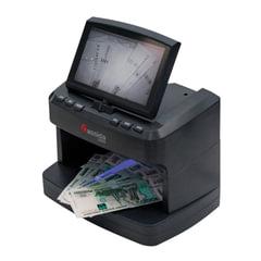 """Детектор банкнот CASSIDA 2300 DA, ЖК-дисплей 18 см, просмотровый, ИК, УФ, антистокс, спецэлемент """"М"""""""