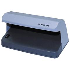 Детектор банкнот DORS 115, просмотровый, УФ детекция, серый