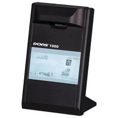 """Детектор банкнот DORS 1000 М3, ЖК-дисплей 10 см, просмотровый, ИК-детекция, спецэлемент """"М"""", черный"""