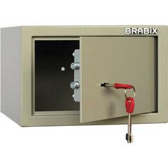 """Сейф мебельный BRABIX """"D-18m"""", 180х270х236 мм, 5 кг, ключевой замок, крепление к стене, 291161"""