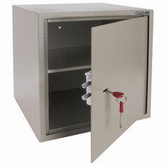 """Сейф мебельный BRABIX """"D-40m"""", 400х400х366 мм, 13 кг, ключевой замок, крепление к стене, 291164"""