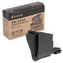 Тонер-картридж KYOCERA (TK-1110) FS1040/1020/1120, оригинальный, ресурс 2500 стр.