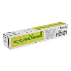 Тонер-картридж KYOCERA (TK-895Y) FS-C8020MFP/C8025MFP/C8520MFP/C8525MFP, желтый, оригинальный, ресурс 6000 страниц