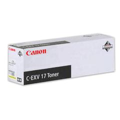Тонер CANON (C-EXV17Y) iR4080/4580/5185, желтый, оригинальный, ресурс 30000 стр.