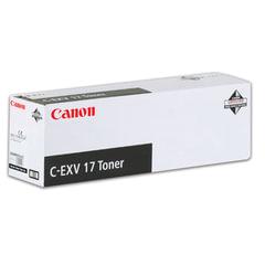 Тонер CANON (C-EXV17BK) iR4080/4580/5185, черный, оригинальный, ресурс 30000 стр.