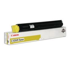 Тонер CANON (C-EXV9Y) iR 2570/3100/3170/3180, желтый, оригинальный, ресурс 8500 стр.