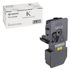 Тонер-картридж KYOCERA (TK-5220K) ECOSYS P5021cdn/cdw/M5521cdn/cdw, черный, ресурс 1200 стр., оригинальный