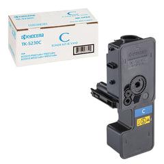 Тонер-картридж KYOCERA (TK-5230C) ECOSYS P5021cdn/cdw/M5521cdn/cdw, голубой, ресурс 2200 стр., оригинальный