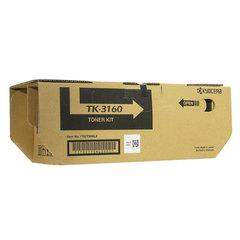 Тонер-картридж KYOCERA (TK-3160) ECOSYS P3045dn/P3050dn/P3055dn/P3060dn, ресурс 12500 стр., оригинальный
