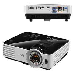 Проектор BENQ MX631ST, DLP, 1024x768, 4:3, 3200 лм, 13000:1, короткофокусный, 2,45 кг