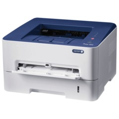 Принтер лазерный XEROX Phaser 3052NI, А4, 26 стр./мин., 30000 стр./мес., WiFi, сетевая карта