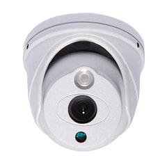 """Камера AHD купольная FALCON EYE FE-ID720AHD/10M, 1/4"""", уличная, цветная, 1280x720, белая"""