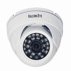 """Камера AHD купольная FALCON EYE FE-ID720AHD/20M, 1/4"""", внутреняя, цветная, 1280x720, белая"""