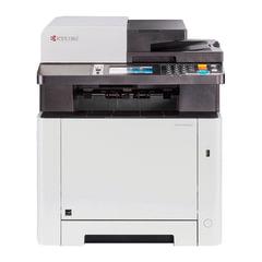 МФУ лазерное ЦВЕТНОЕ KYOCERA M5526cdw (принтер, сканер, копир, факс), A4, 26 стр./мин., 50000 стр./мес., АПД, ДУПЛЕКС, WI-FI с/кар