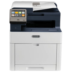 МФУ лазерное ЦВЕТНОЕ XEROX WorkCentre 6515DN (принтер, сканер, копир, факс), А4, 28 стр./мин, 50000 стр./мес., ДУПЛЕКС, ДАПД, с/к