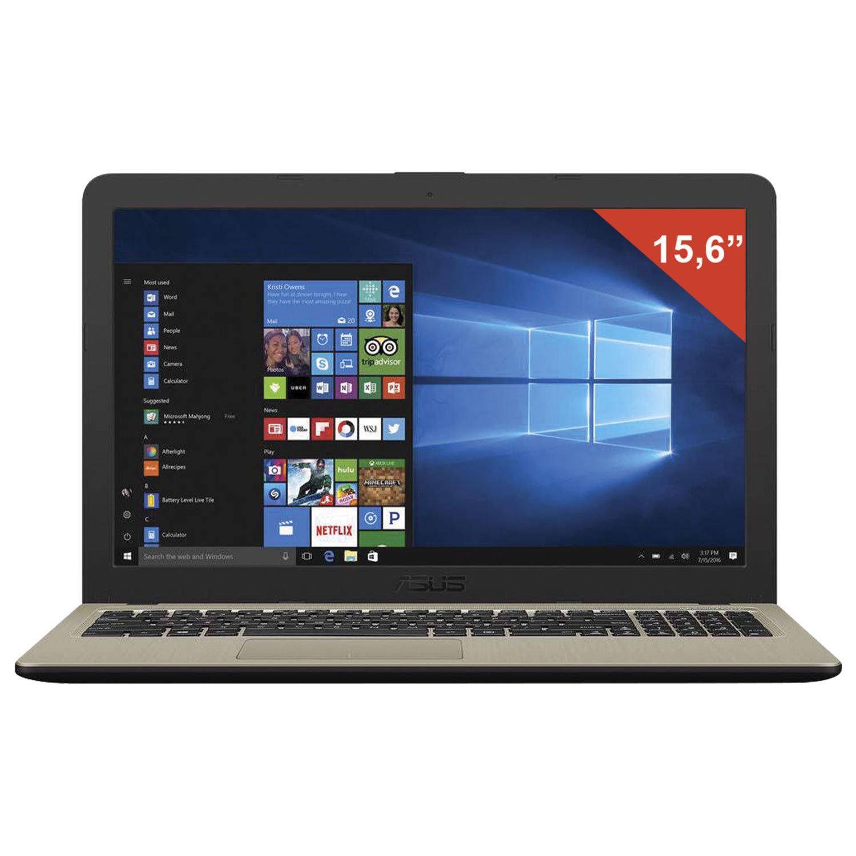 """Ноутбук ASUS X540UB 15.6"""", Intel Core i3-6006U 2 ГГц, 4 ГБ, 500 Гб, MX110, 2 ГБ, NO DVD, Windows 10 Home, черный"""