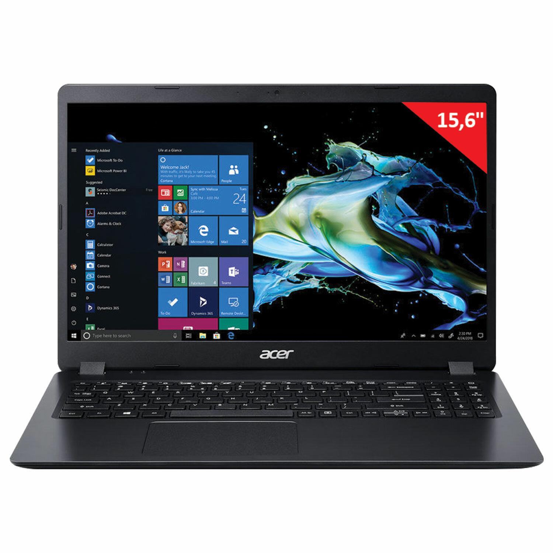 """Ноутбук ACER Extensa EX215-51-385A 15,6"""" INTEL Core i3-10110U 2.1 ГГц, 4 ГБ, SSD 128 ГБ, NO DVD, WIN 10 H, черный"""