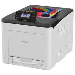 Принтер лазерный ЦВЕТНОЙ RICOH SP C360DNw, А4, 30 стр./мин., 75000 стр./мес., сетевая карта, Wi-Fi, дуплекс