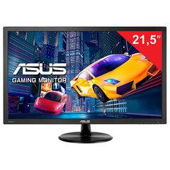 """Монитор ASUS VP228HE 21.5"""" (55см), 1920x1080, 16:9, LED, 1ms, 200cd, VGA, HDMI, черный"""