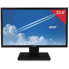 """Монитор ACER V246HQLbi 23,6"""" (60 см), 1920x1080, 16:9, VA, ms, 250 cd, VGA, HDMI, черный"""