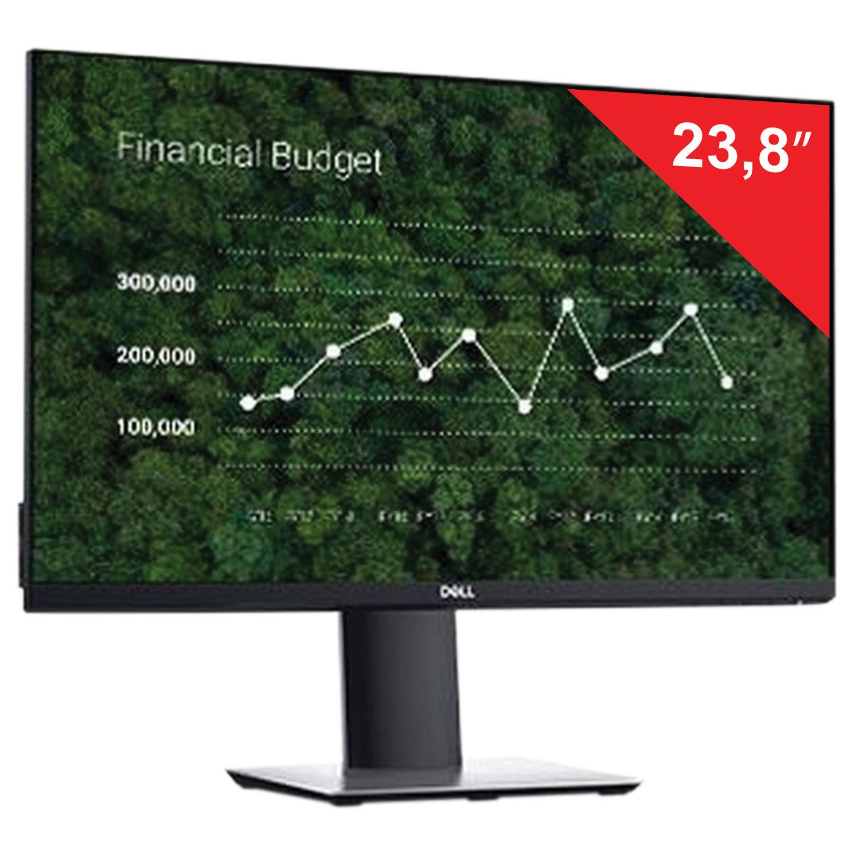 "Монитор DELL P2419HC 23,8"" (60 см), 1920x1080, 16:9, IPS, 5 ms, 250 cd, HDMI, DP, USB, HAS Pivot, черный"