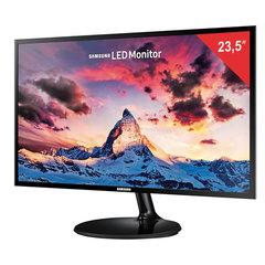 """Монитор SAMSUNG S24F350FHI 23,5"""" (60 см), 1920x1080, 16:9, PLS, 4 ms, 250 cd, VGA, HDMI, черный"""