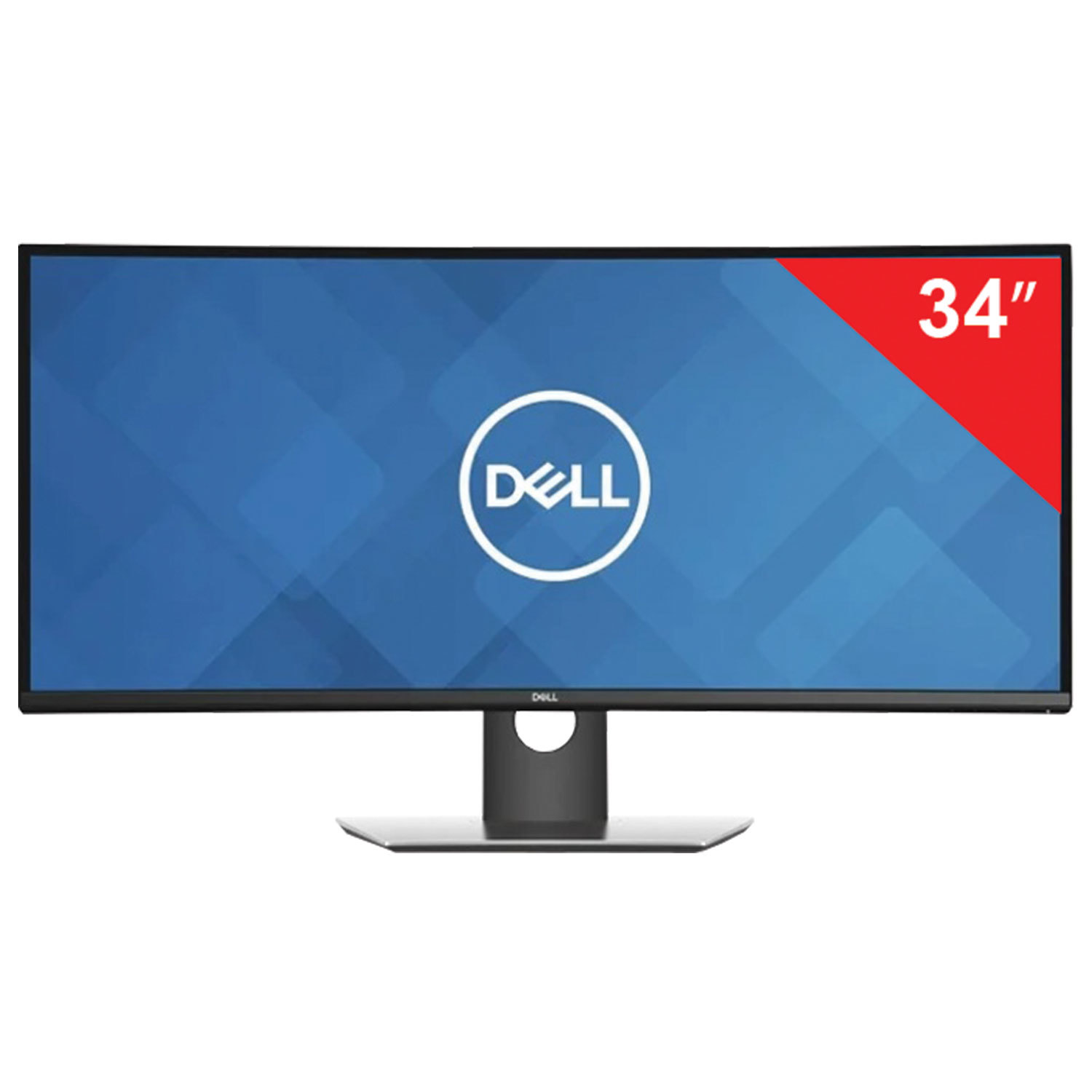 "Монитор DELL U3419W 34"" (86 см), 3440x1440, 21:9, IPS, 5 ms, 300 cd, HDMI, DP, USB, HAS Pivot, черный"