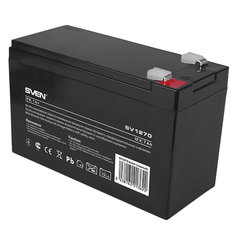 Аккумуляторная батарея для ИБП любых торговых марок, 12 В, 7 Ач, 151х65х100 мм, SVEN