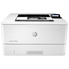 Принтер лазерный HP LaserJet Pro M404dw, А4, 38 стр/мин, 80000 стр/мес, ДУПЛЕКС, Wi-Fi, сетевая карта