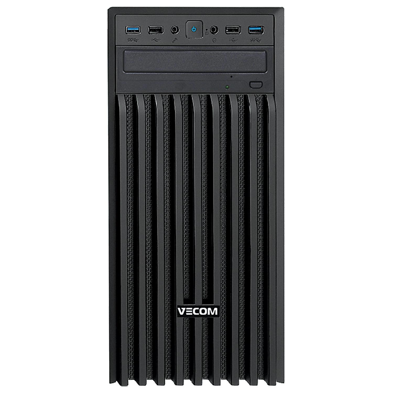 Системный блок VECOM T616 INTEL Core i5-9400 4 ГГц/8 ГБ/SSD 240 ГБ/DOS/черный