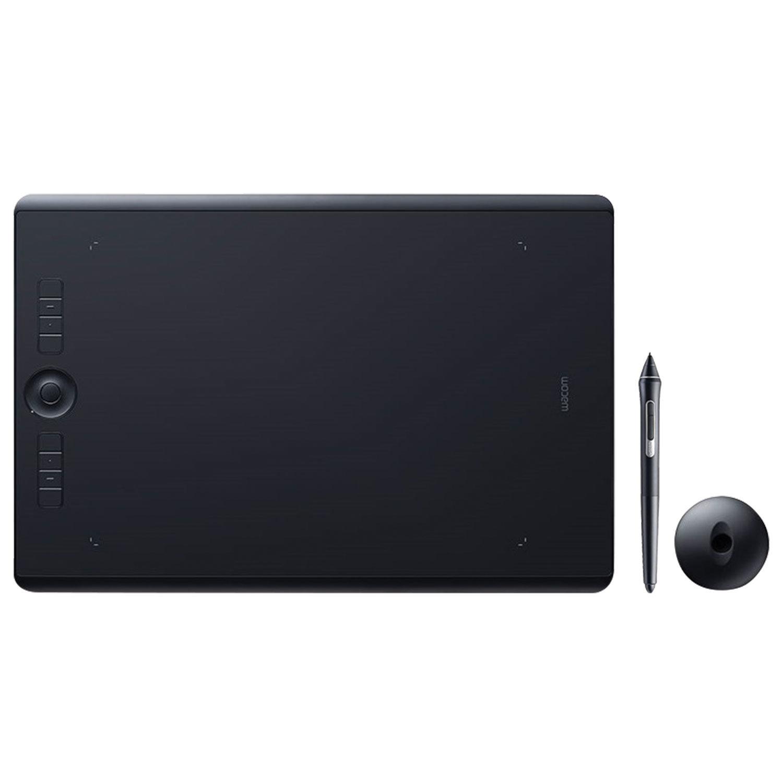 Планшет графический WACOM Intuos Pro L PTH-860-R, 5080 LPI, 8192 уровня, А4 (311х216), USB, BT, черный