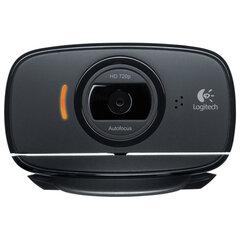 Веб-камера LOGITECH HD WebCam B525, USB, чёрная, 960-000842
