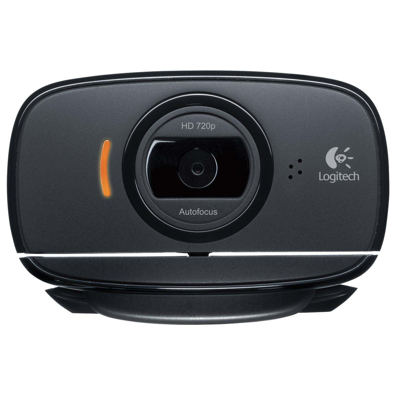 Вебкамера LOGITECH HD Webcam C525, 8 Мпикс, USB 2.0, микрофон, автофокус, черная, 960-001064