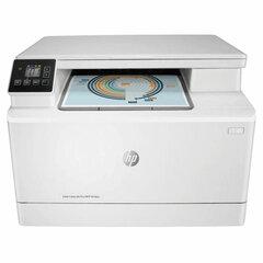 """МФУ лазерное ЦВЕТНОЕ HP Color LaserJet Pro M182n """"3 в 1"""" А4 16 стр./мин, 30000 стр./месяц, сетевая карта"""