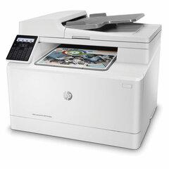 """МФУ лазерное ЦВЕТНОЕ HP Color LaserJet Pro M183fw """"4 в 1"""" А4 16 стр./мин, 30000 стр./месяц, АПД, Wi-Fi, сетевая карта"""
