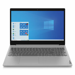 "Ноутбук LENOVO IdeaPad 3 15IIL05 15.6"" INTEL Core i3-1005G1 1.2 ГГц, 4 ГБ, SSD 512 ГБ, NO DVD, Windows 10, серый"