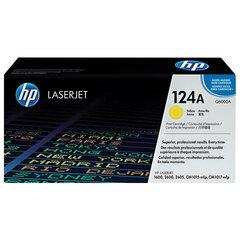 Картридж лазерный HP (Q6002A) ColorLaserJet CM1015/2600 и другие, желтый, оригинальный, 2000 стр.
