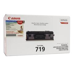 Картридж лазерный CANON (719) LBP6300dn/LBP6650dn/MF5840dn/MF5880dn, черный, ориг., ресурс 2100 стр.