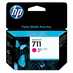 Картридж струйный для плоттера HP (CZ131A) DesignJet T120/T520, №711, пурпурный, оригинальный