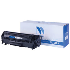 Картридж лазерный NV PRINT (NV-Q2612A) для HP LaserJet 1018/3052/М1005, ресурс 2000 стр.