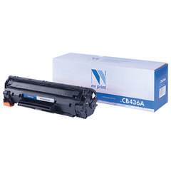 Картридж лазерный NV PRINT (NV-CB436A) для HP LaserJet P1505/1506/M1120/M1522, ресурс 2000 стр.