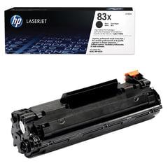 Картридж лазерный HP (CF283X) LaserJet Pro M201/M225, черный, оригинальный, ресурс 2200 страниц